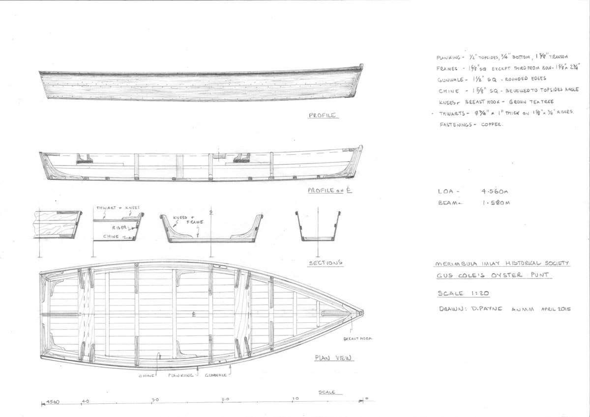 Merimbula Imlay Historical Society oyster punt