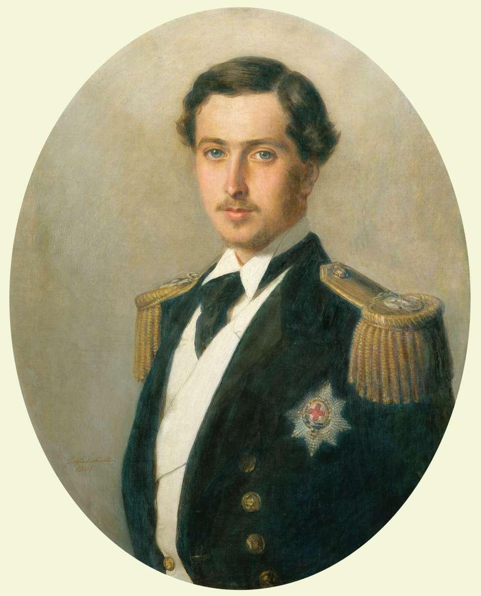 Prince Alfred, Duke of Edinburgh and captain of HMAS Galatea