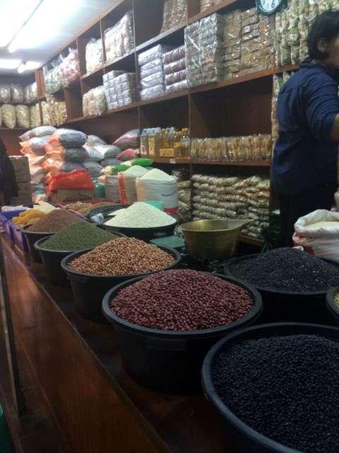 Spice stall in the colourful Malioboro markets