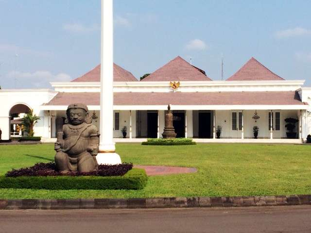 Dutch Governor's Residence, now the seat of the Governor of Yogyakarta
