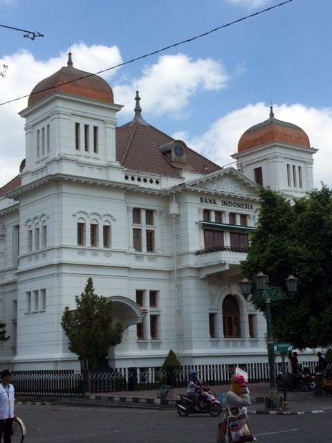 Dutch colonial bank building now the Bank of Indonesia