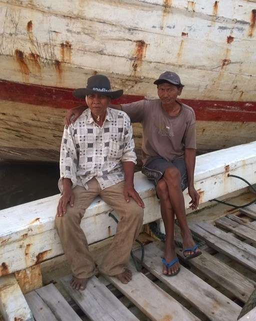 Two Pinis sailors