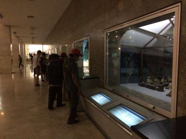 Dioramas tell the independence story at Monas