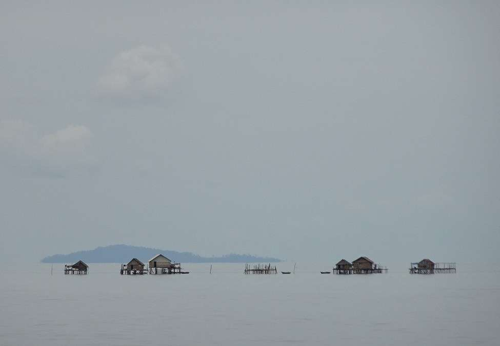 Photograph of Sea Gypsy kampung Padeo Archipelago