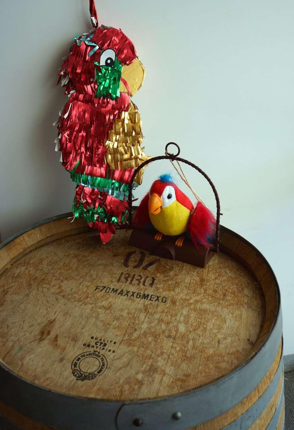 finsihed piñata