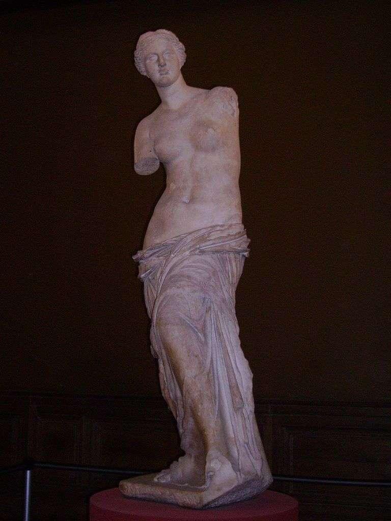 Venus de Milo. Image: Yair Haklai via Wikicommons.