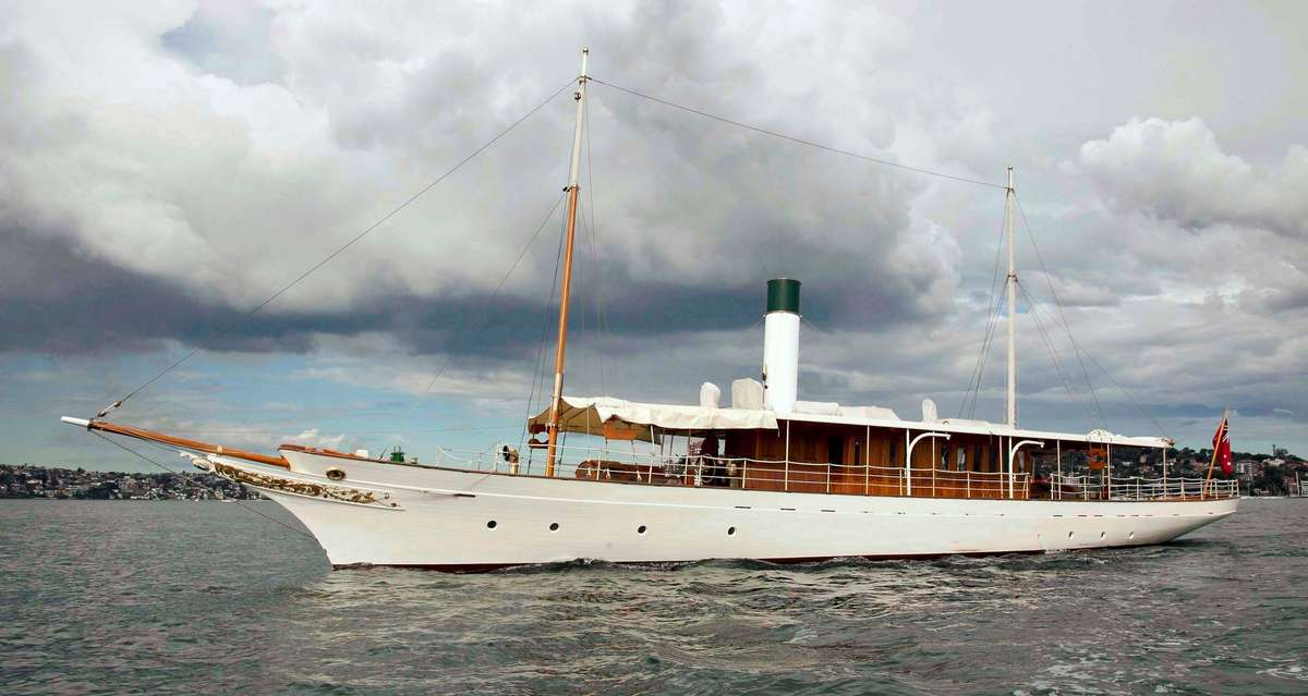 The Ena, a fine example of Edwardian elegance. Photo by Andrew Frolows/ANMM.