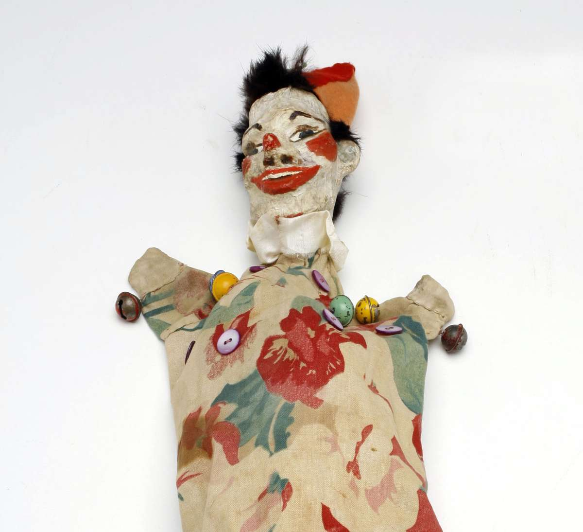Clown puppet. Image: Andrew Frolows/ANMM. ANMM Collection 00040570.