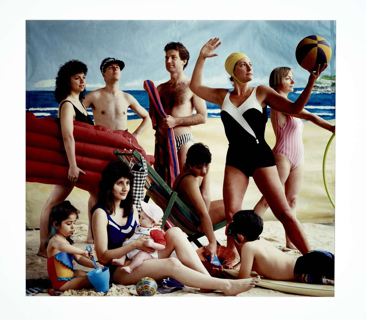 Anne Zahalka The Bathers 1989. Type C print. ANMM Collection 00019000. Reproduced courtesy the photographer.