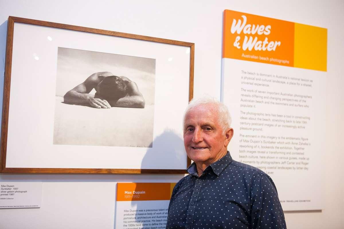 Bob McTavish. Image: Your Life Photography, Noosa Regional Gallery, 2016.