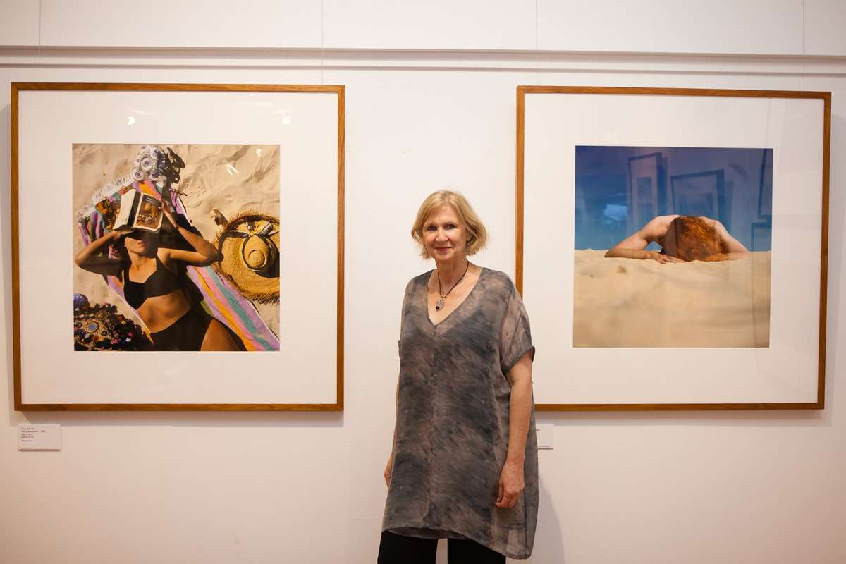 ANMM senior curator Daina Fletcher at the opening. Image: Your Life Photography, Noosa Regional Gallery, 2016.
