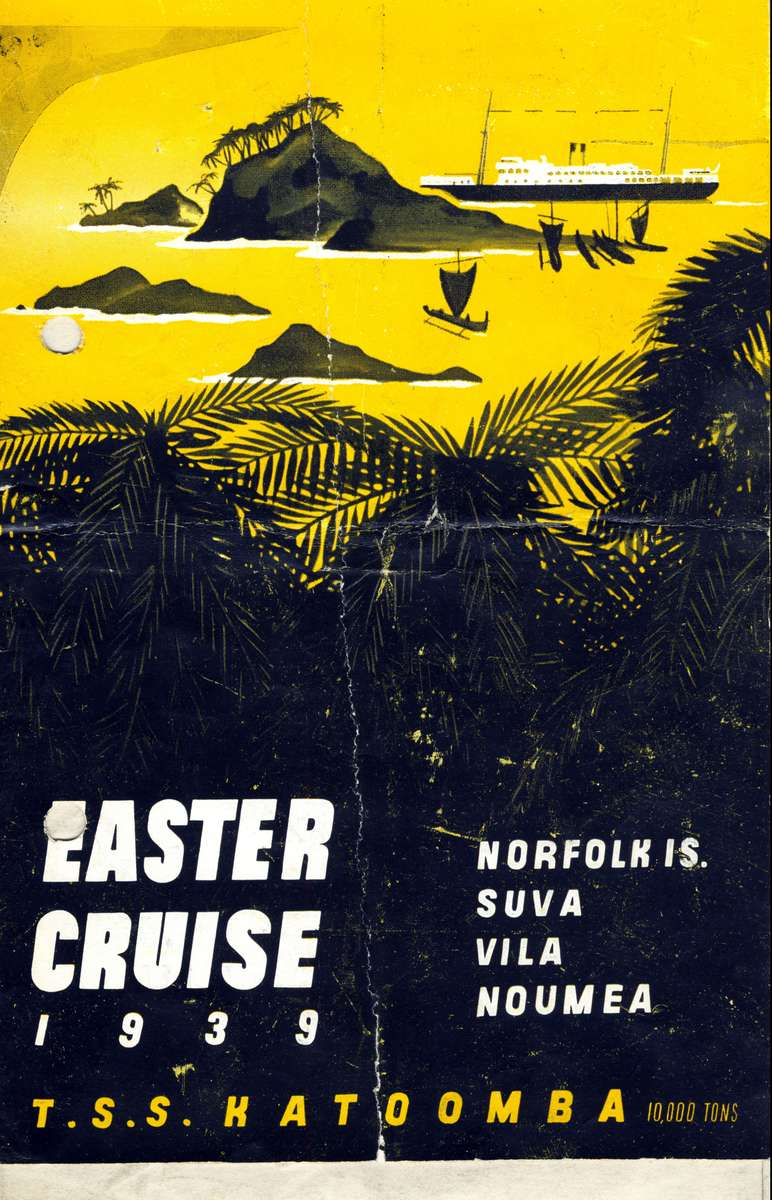Easter Cruise aboard the TSS Katoomba. ANMM Collection ANMS1215[027].