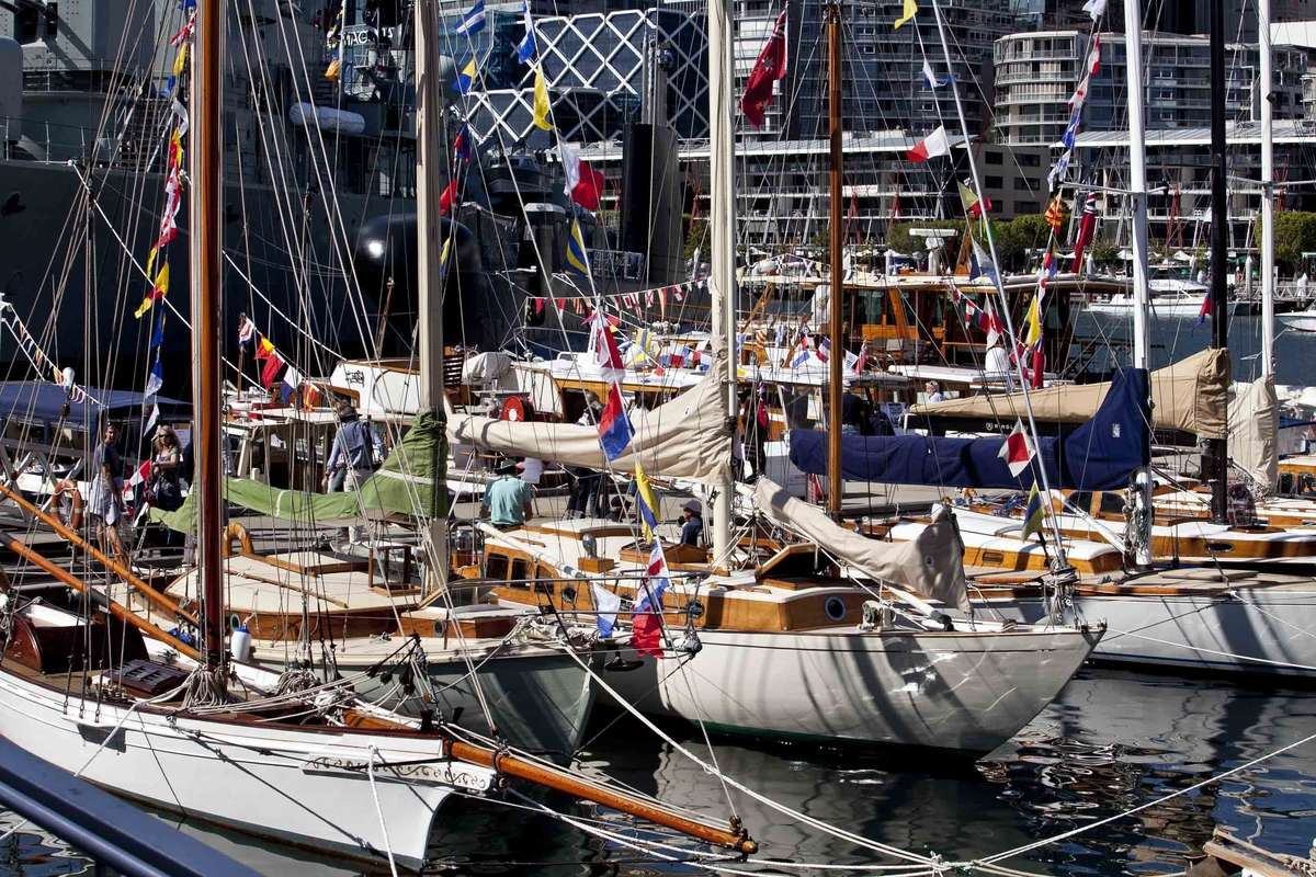 Classic and Wooden Boat Festival 2012. Image: ANMM.
