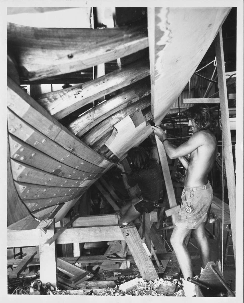 Building Gretel II. Image: ANMM Collection ANMS0155[076].