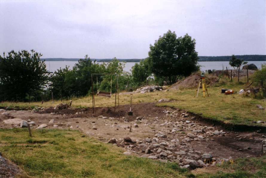 Excavations at Birka in 1993. Alex Petersen