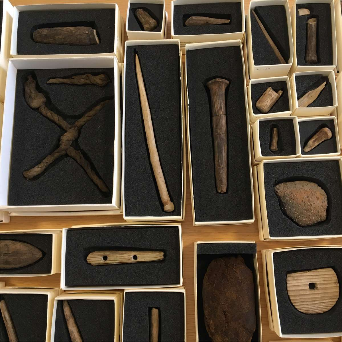 A small selection of maritime Birka finds