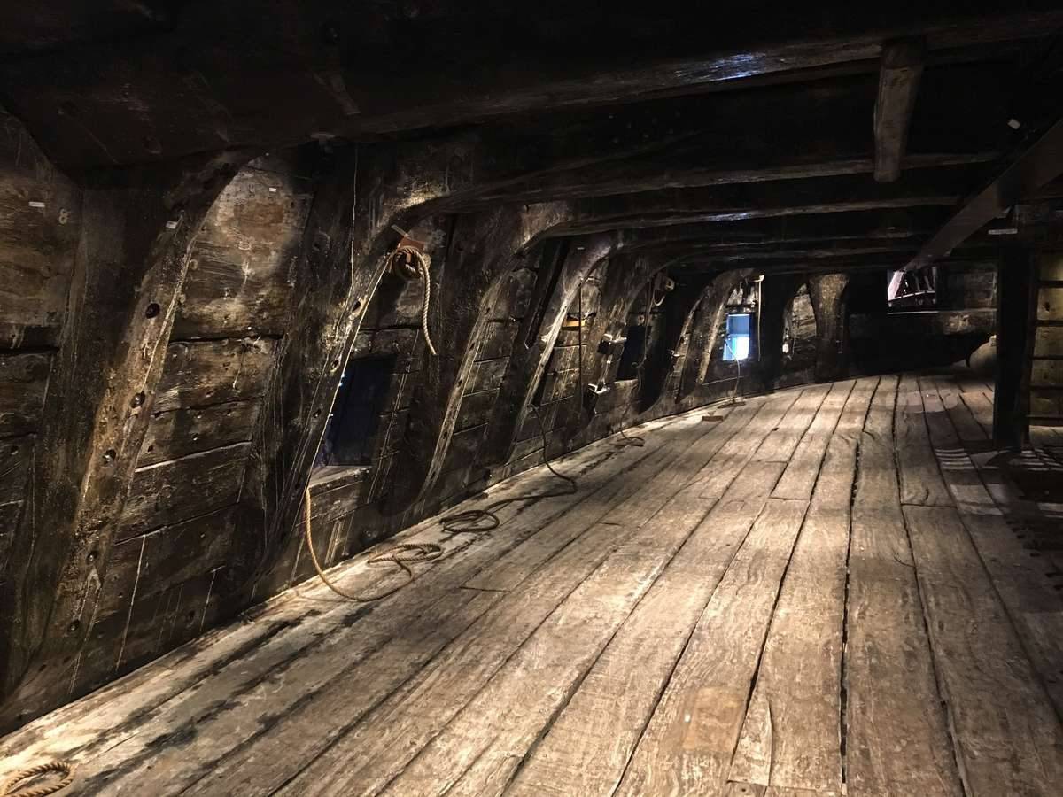 Below decks