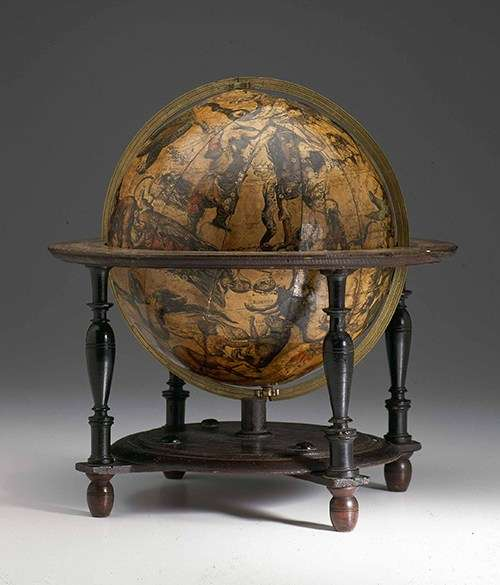 The Bleu celestial globe represents the first full publication of the Southern Hemisphere