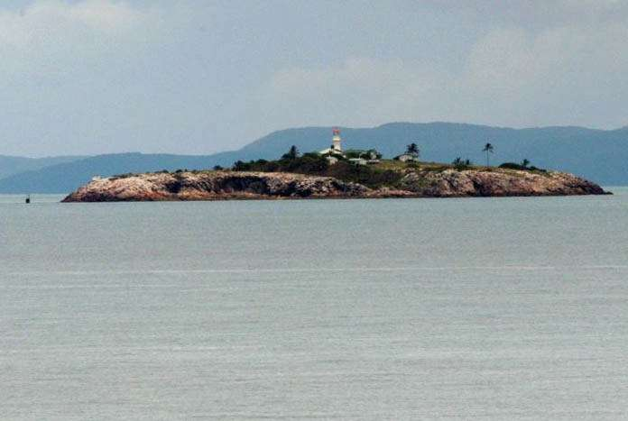 Goode Island where the Norgates spent 20 years. Image: Wal Cray / Wikimedia.