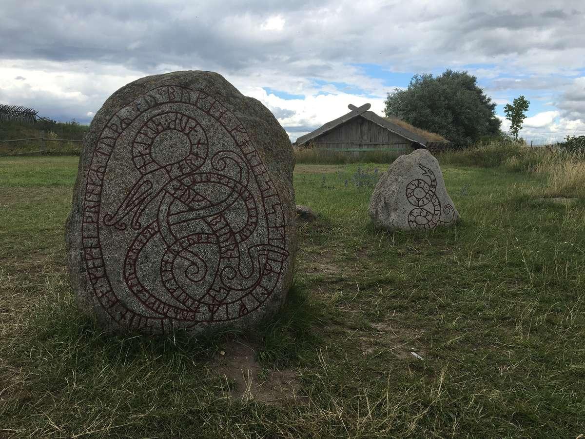 Rune stones at Foteviken
