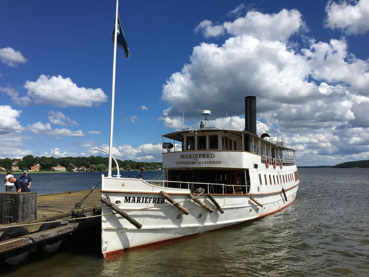 SS Mariefred, built in 1903 to service the Lake Malaren area west of Stockholm