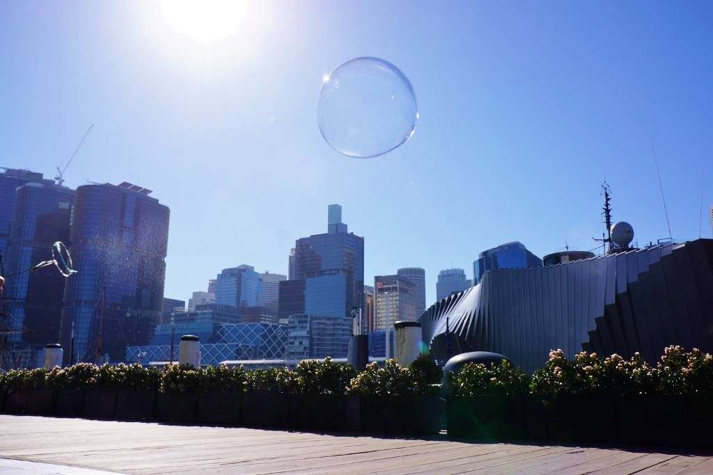 Best ever bubbles. Image: Annalice Creighton / ANMM.