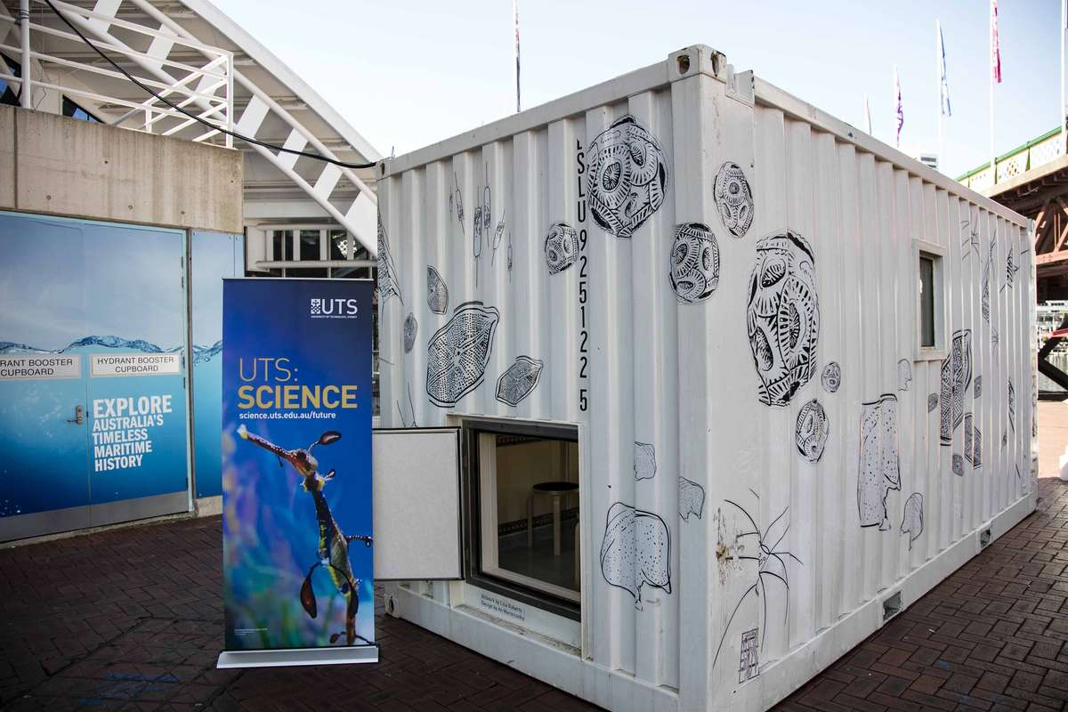UTS Micro-CSI on site at the Australian National Maritime Museum. Image: Andrew Frolows, 2016 / ANMM.
