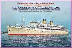 The MS Johan van Oldenbarnvelt. Image: Ilse Fait.