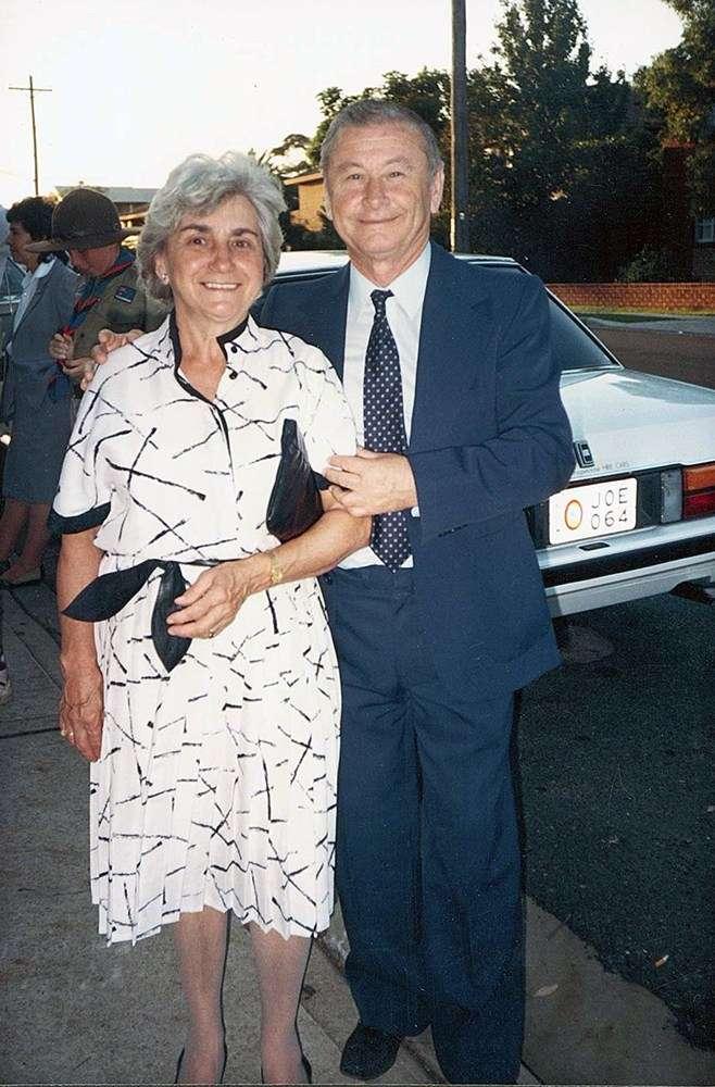 Rudi and Adele. Image: Ilse Fait.