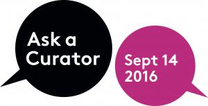 Ask A Curator logo 2016.