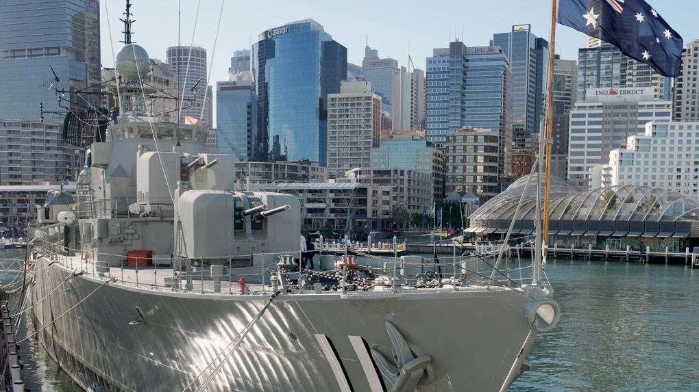 HMAS Vampire. Image: ANMM.