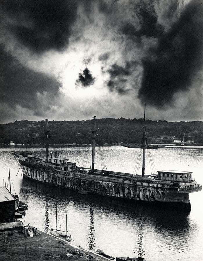 Tingira anchored in Berry