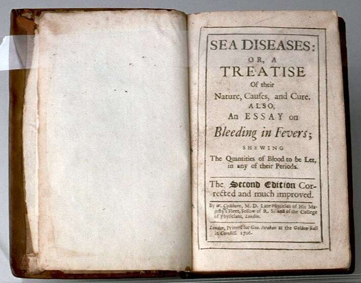 Sea Diseases and Bleeding Fevers, what could possibly go wrong? ANMM Collection 00005996.