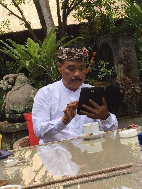 Owner of ARMA Agung Rai