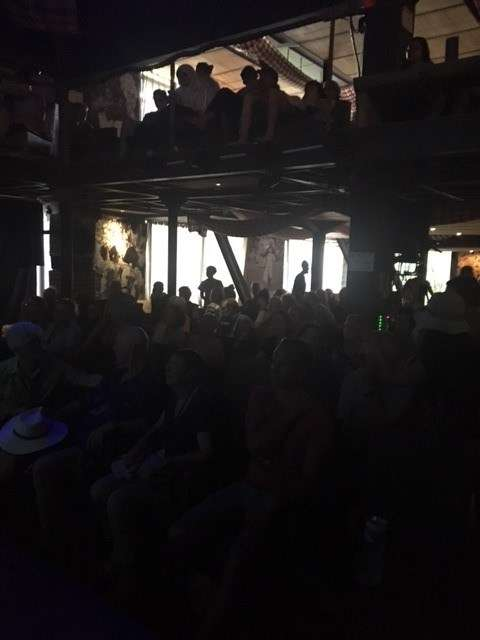 The Betelnut Café packed to the rafters for the screening of Indonesia Calling and Q&A session