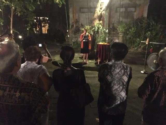 Australian consul to Bali opens the exhibition
