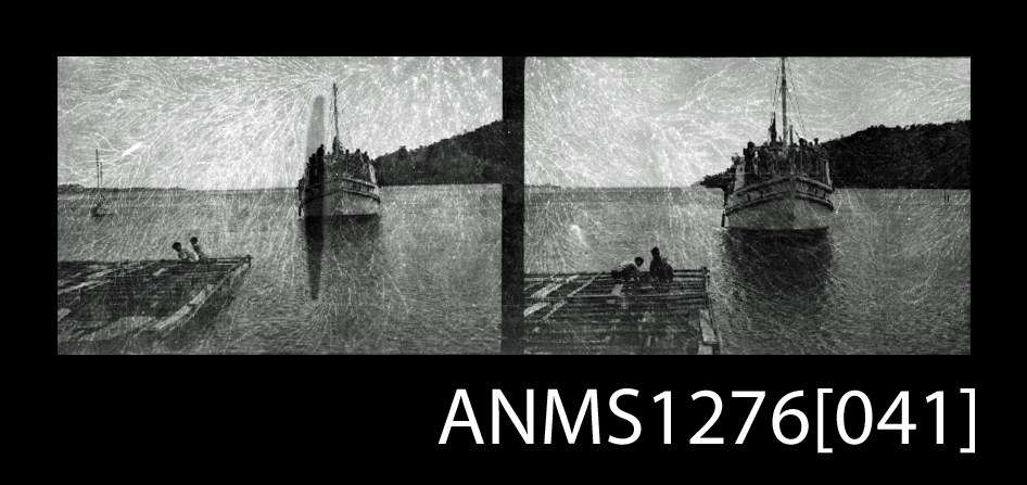 Digitising the negatives reduces the need to handle the fragile objects. Image: ANMM Collection ANMS1276[041].