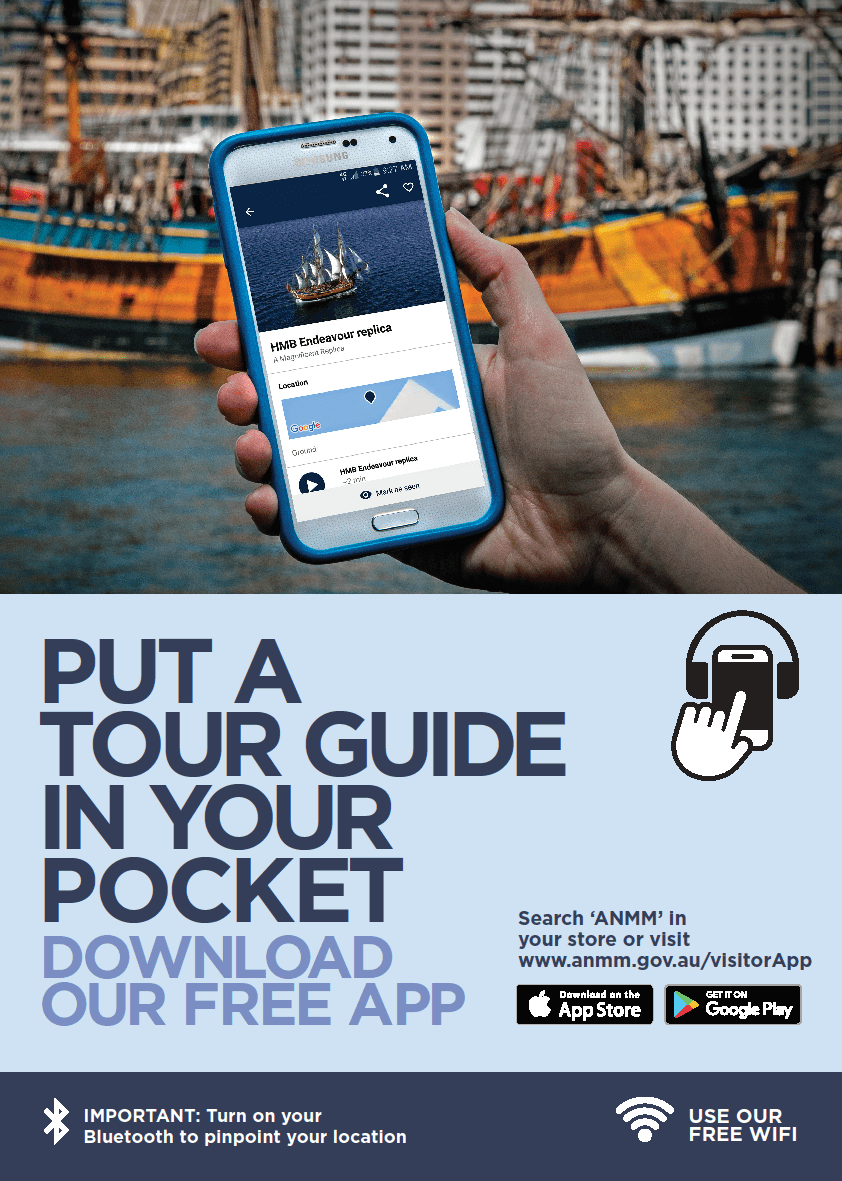 Put a tour guide in your pocket. Download our free Visitor App.