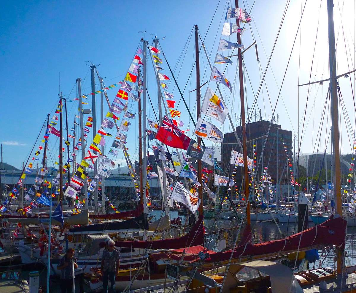 At the 2015 Australian Wooden Boat Festival. Image: David Payne / ANMM.
