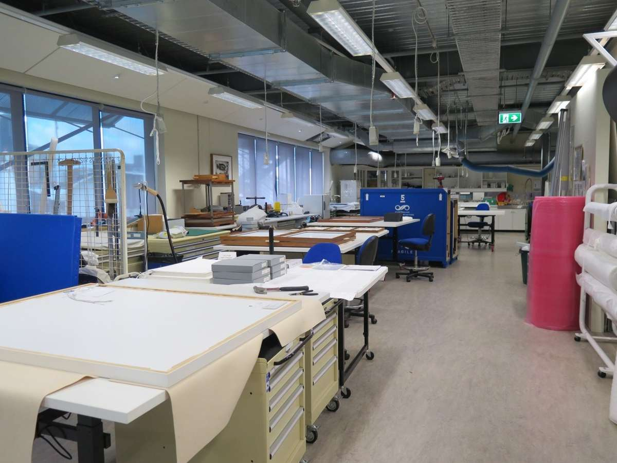 The conservation lab. Image: ANMM.