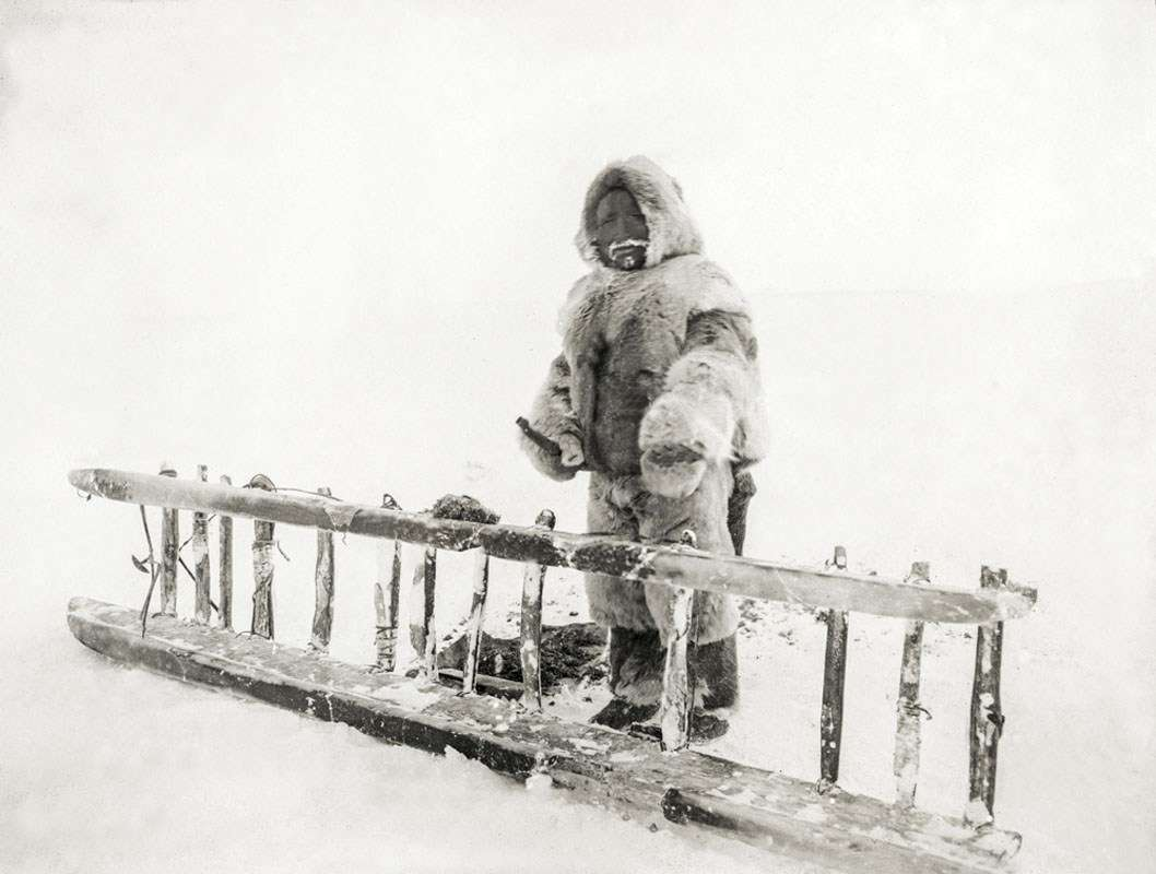 Sledge runners. Image: Photographer unidentified, courtesy Fram Museum.