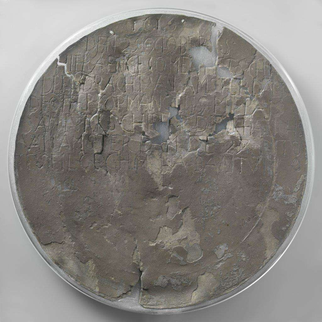 Dirk Hartog plate, 1600–1616