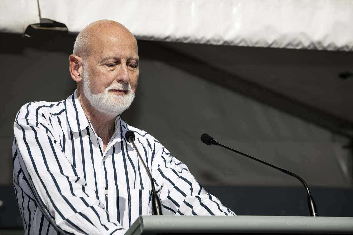 Speaker Michael Ronai. Image: Andrew Frolows / ANMM.