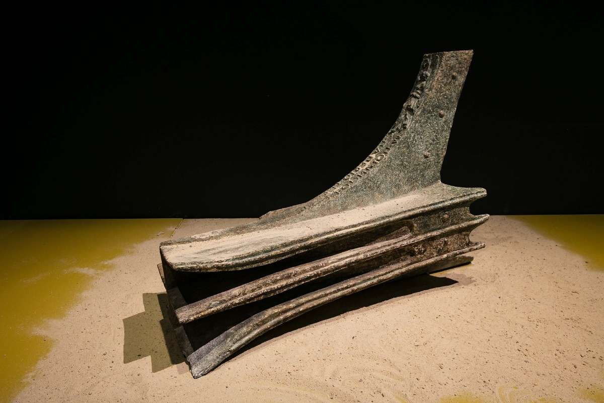 The rostrum in Escape from Pompeii. Image: Andrew Frolows / ANMM.