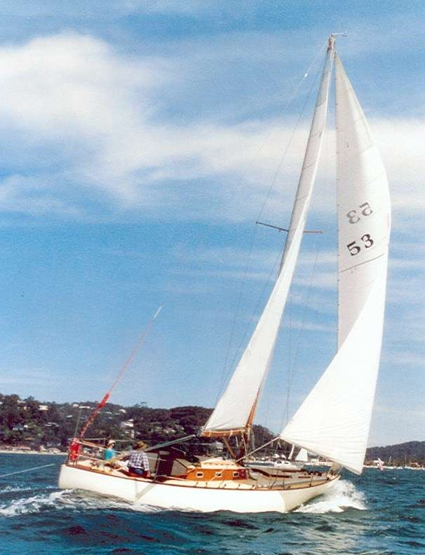 Camille of Seaforth on Pittwater in 2008