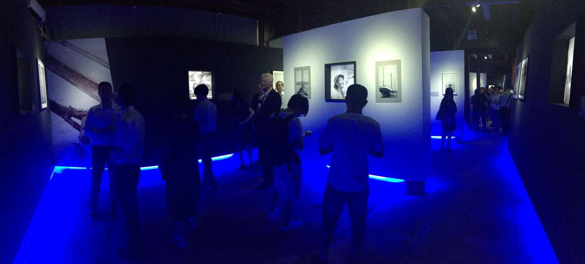 Opening of<em> Portraits of Chinese Junks - Images from the David Waters collection</em>, QuingAn Guildhall, Ningbo, July 2017