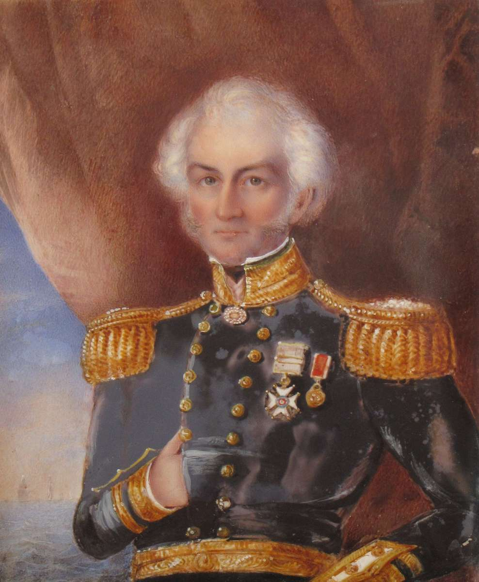 Two of Jane Austen's brothers, Francis (left) and Charles, both had successful careers in the Royal Navy, rising to the rank of admiral. The portrait of Charles Austen was painted in Malta by an unknown artist. Francis portrait from Wikicommons; Charles portrait courtesy Jane Austen's House Museum.