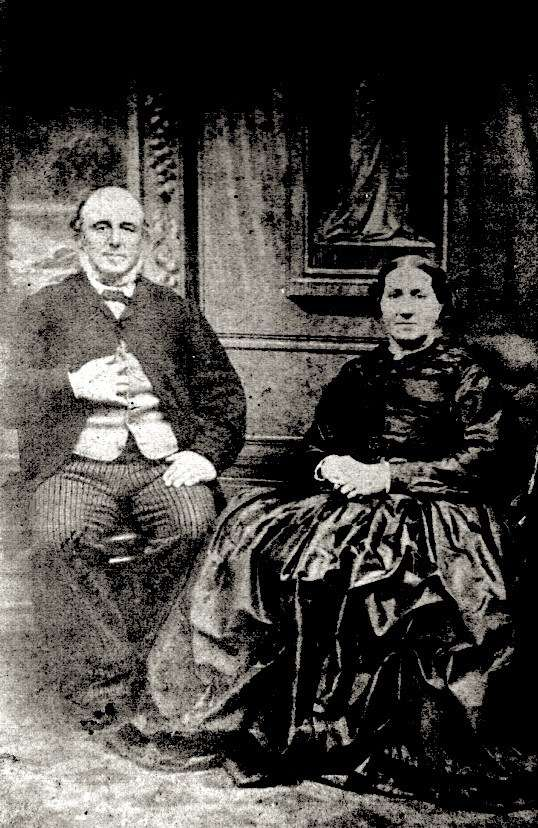 Scottish migrants John Scott Grant and Ann Grant. Reproduced courtesy Catherine Bell