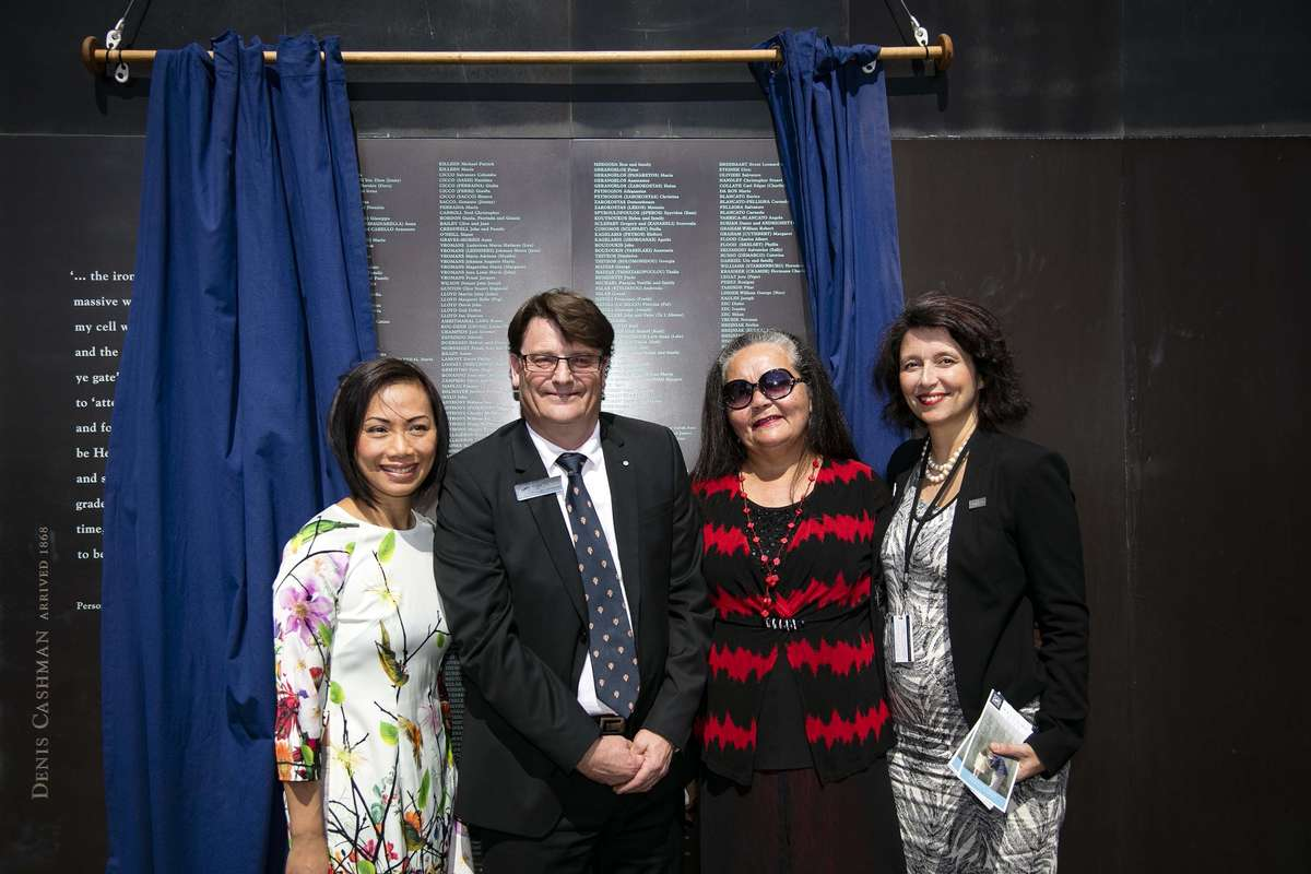 From left to Dai Le, Kevin Sumption, Donna Ingram and Sabina Peritore. Image: Andrew Frolows/ANMM.