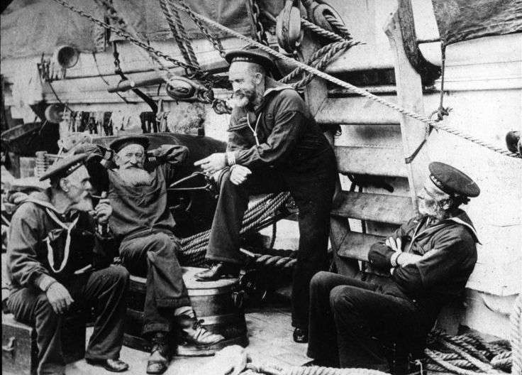 Sailor Tales – Tales of ghostly encounters and unsolved mysteries are part of the lifeblood of the sea. Image: US Naval History and Heritage Command.